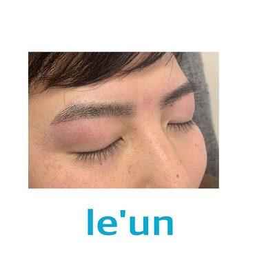 メンズ眉毛サロンle-unルアン